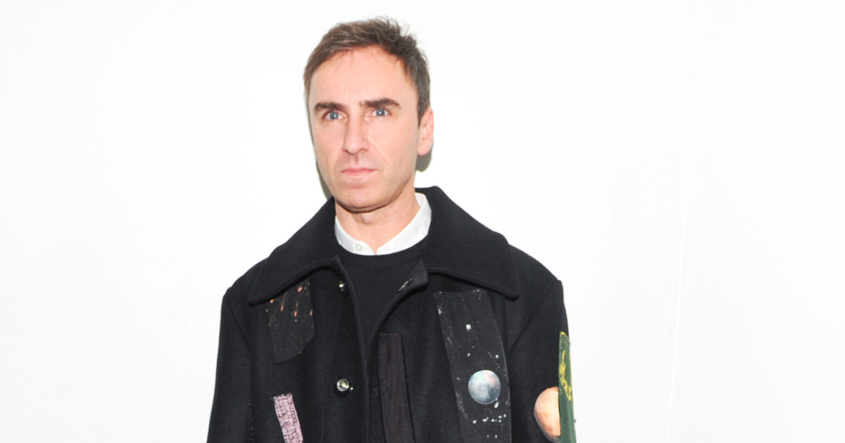 Raf Simons Is the Most Googled Designer of 2015