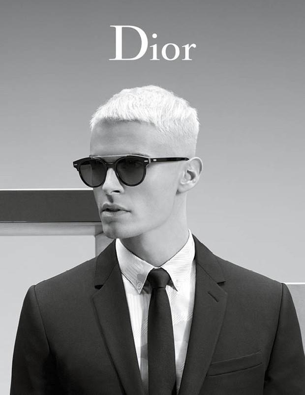 Baptiste Giabiconi Stars in Dior Homme Spring/Summer Campaign