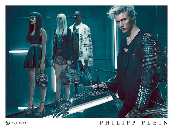 Lucky Blue Smith for Philipp Plein