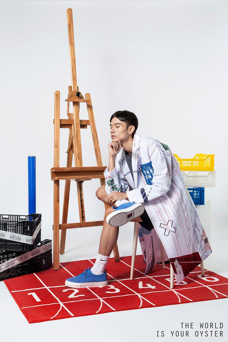 The World Is Your Oyster Spring / Summer 16′ Lookbook