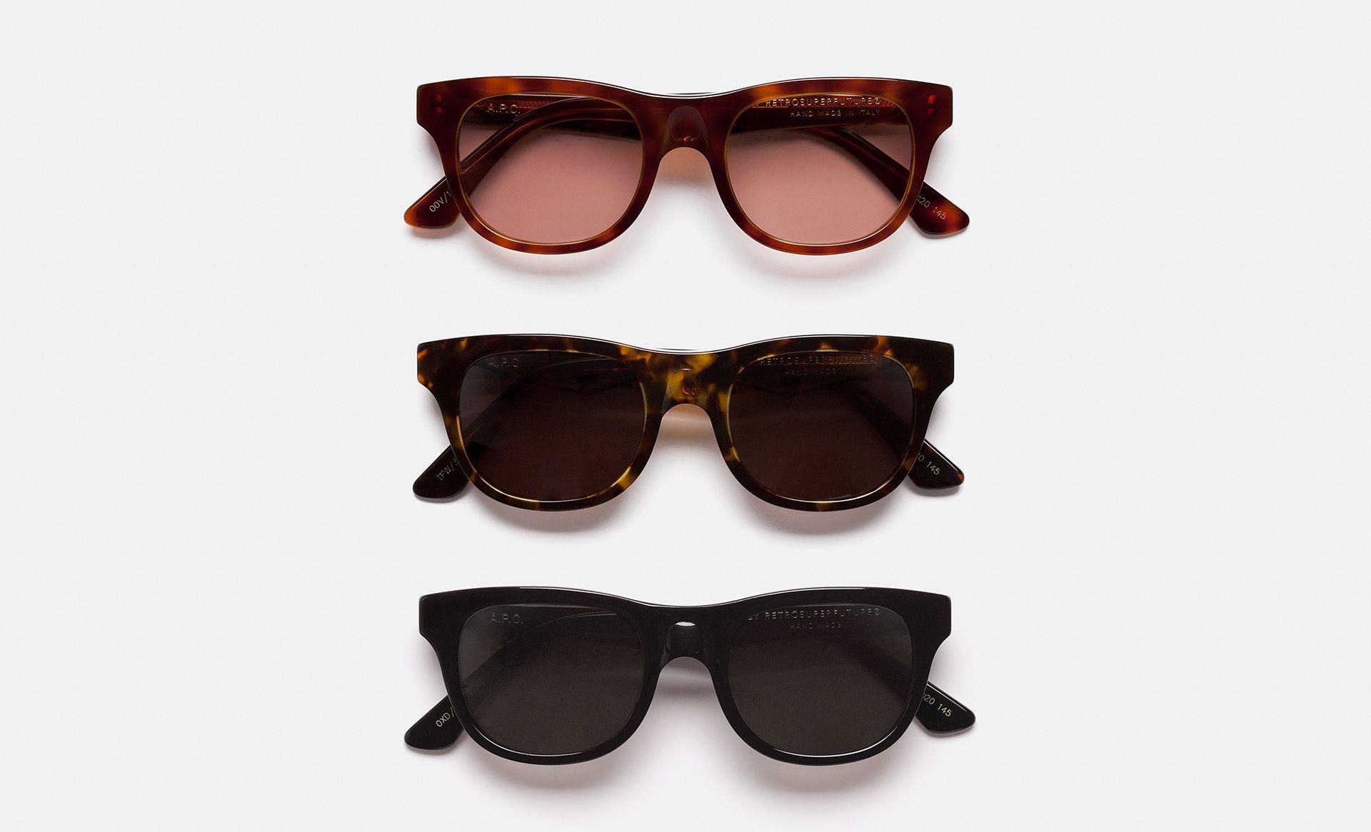 A.P.C. x RETROSUPERFUTURE Sunglasses Collection