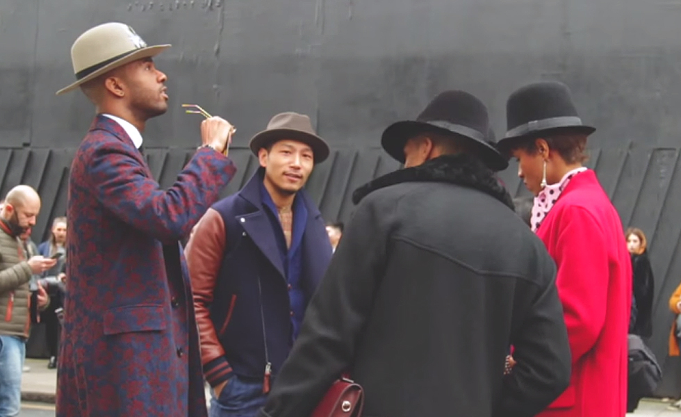 LCM: London Collections: Men AW15 Street Style Video