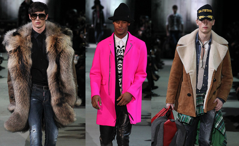 MFW: Dsquared Autumn/Winter 2015 Collection
