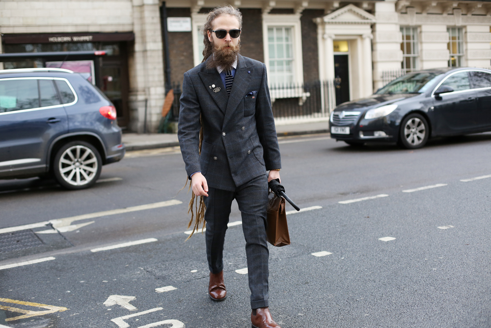 Street Style Shots: London Collections: Men Day 2