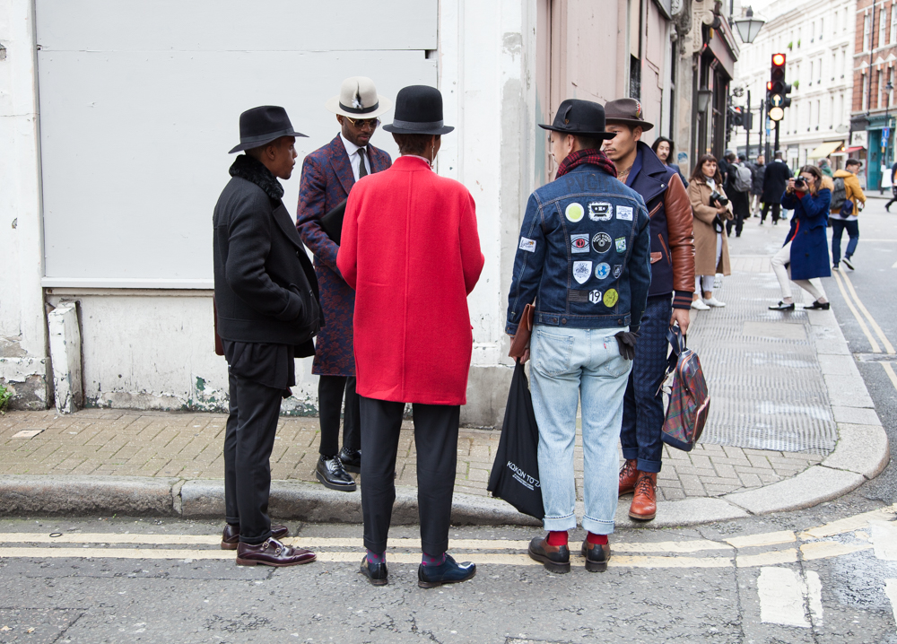 Street Style: London Collections: Men Jan 2015 – Day 1