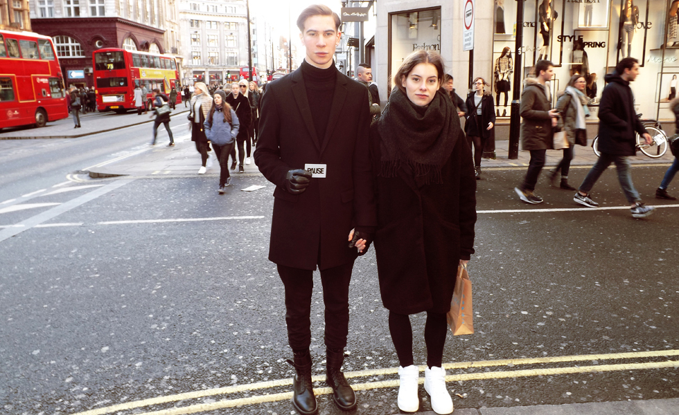 Street Style Shots: Oxford Circus, London (Jan 2015)