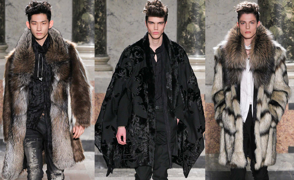 MFW: Roberto Cavalli Autumn/Winter 2015 Collection