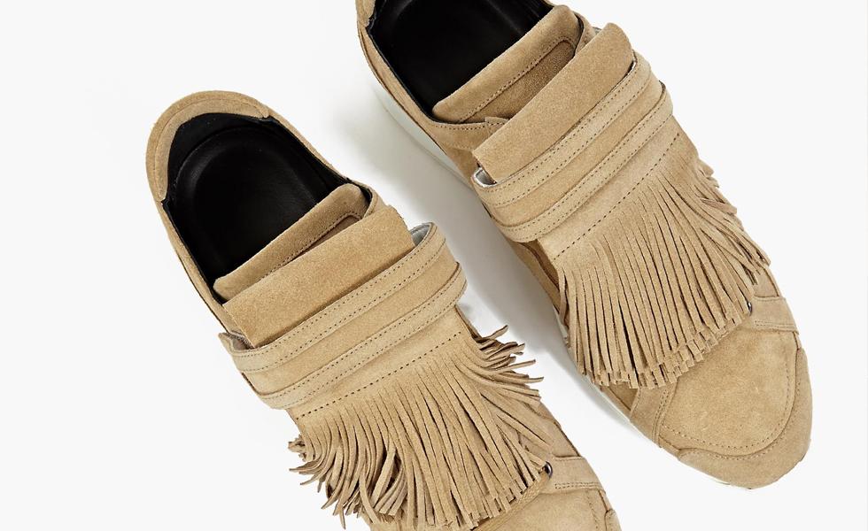 """Sneaker Watch: Pierre Hardy """"Fringed"""" Sneakers"""