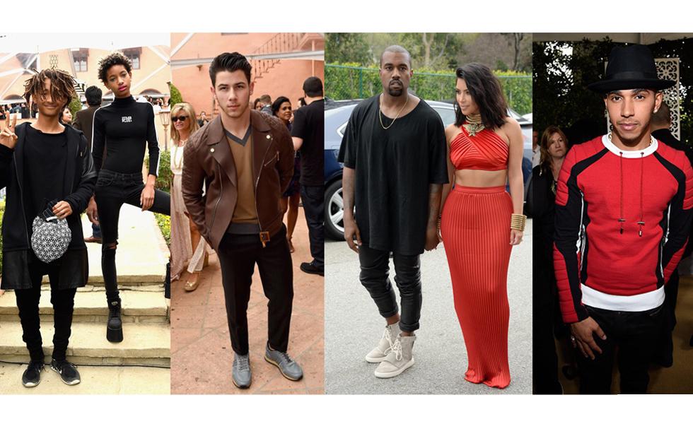 Celebrity Style: Kanye West, Lewis Hamilton, Nick Jonas at RocNation Pre-GRAMMY Brunch