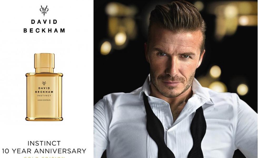 David Beckham Launches Instinct Gold Edition Fragrance