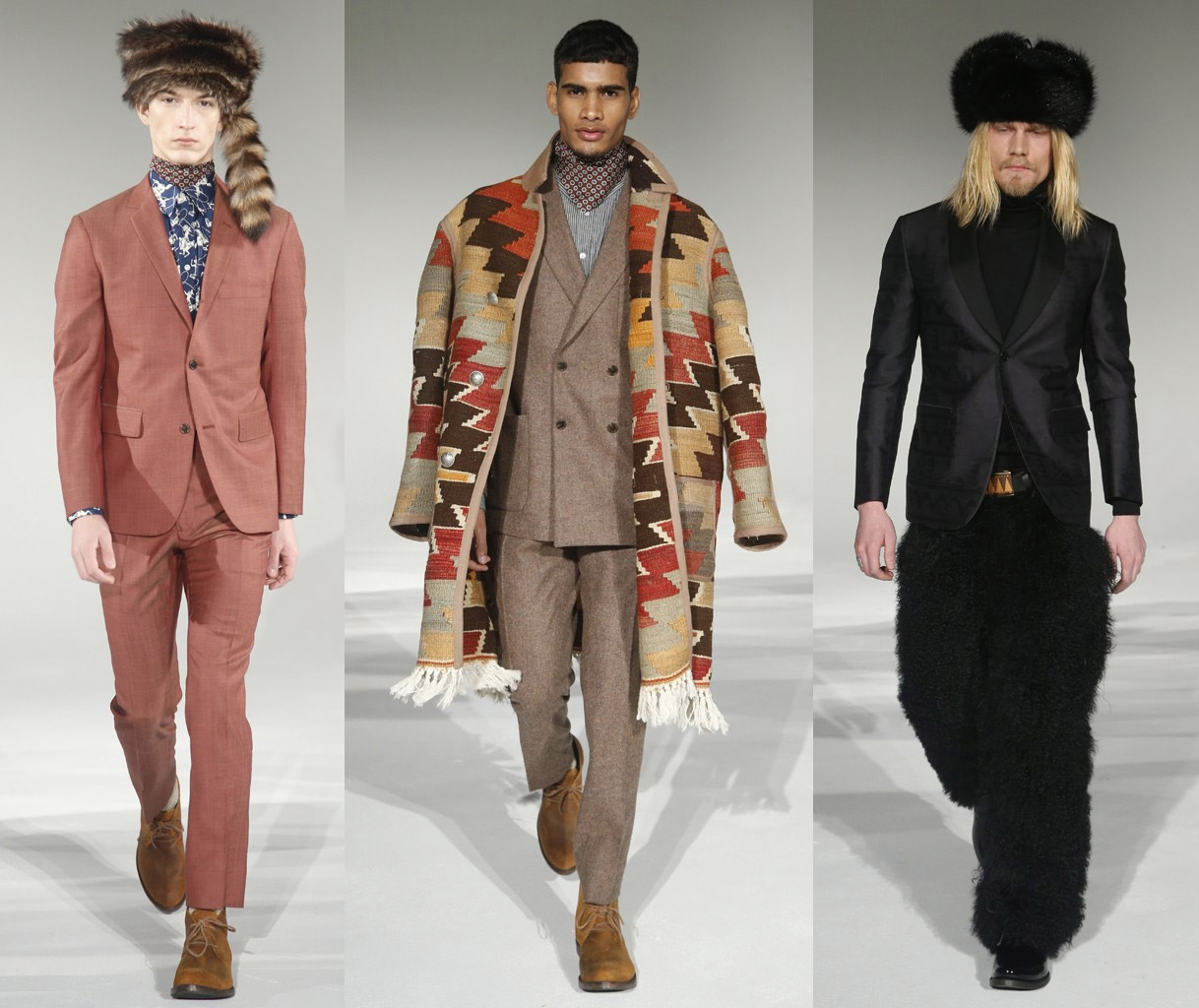 NYFW: David Hart Autumn/Winter 2015 Collection