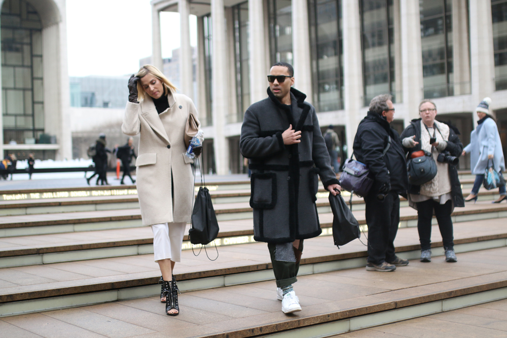 Street Style Shots: New York Fashion Week Day 1