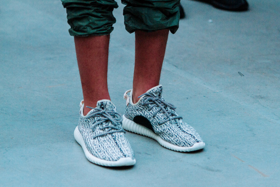 Kanye West debuts more Adidas Yeezy Footwear at NYFW