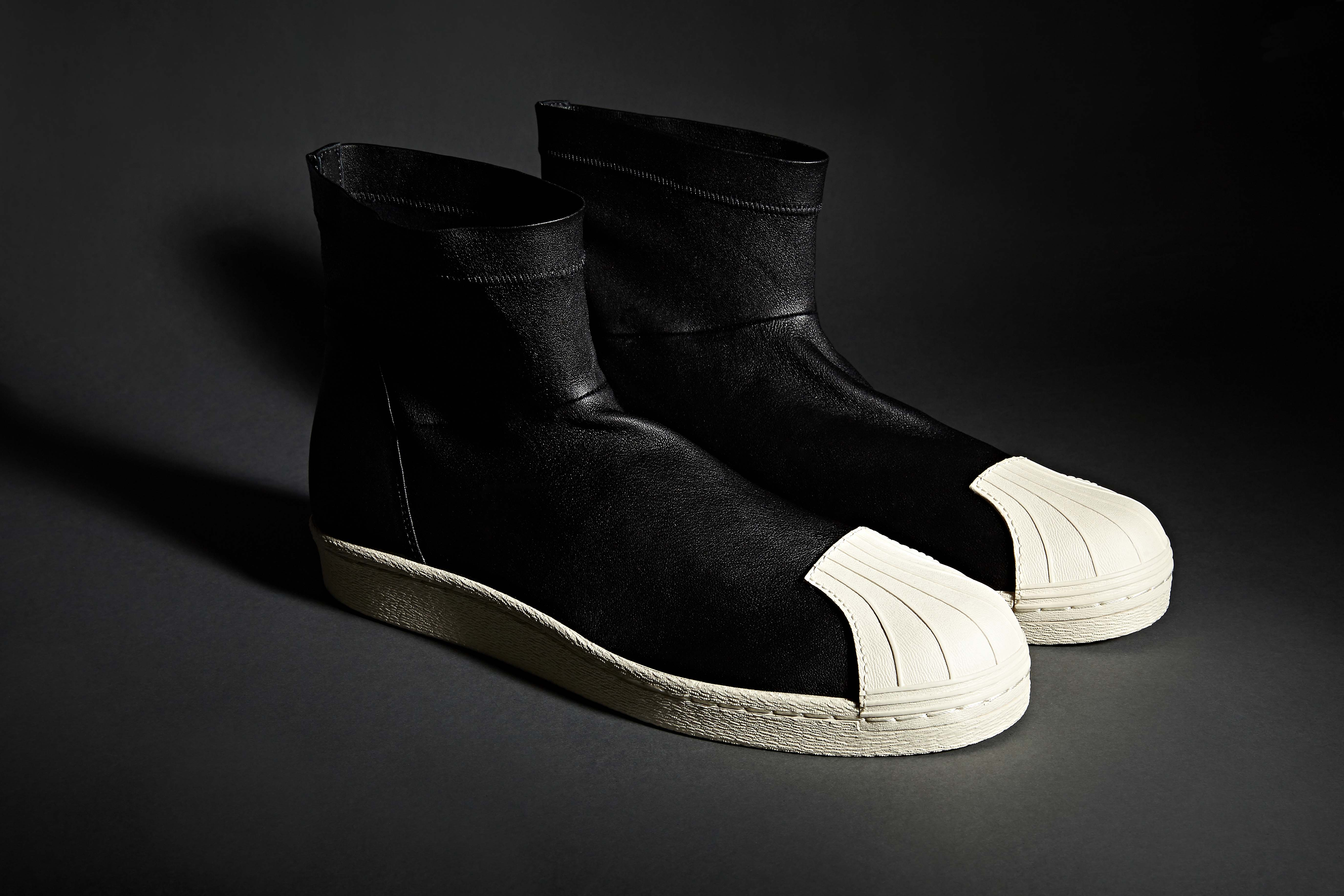 Rick Owens x Adidas Superstar Boot