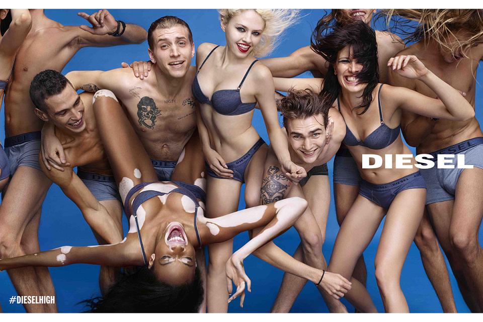 Diesel Spring/Summer 2015 #DieselHigh Ad Campaign