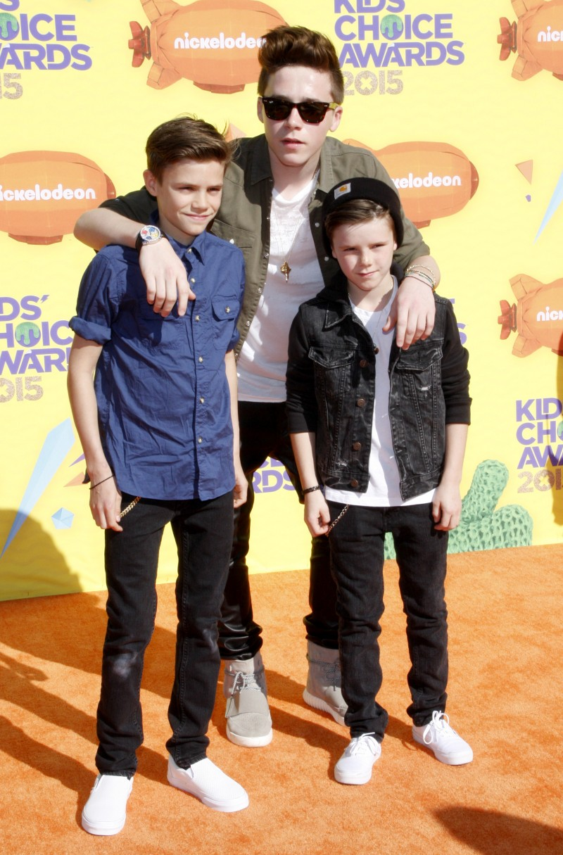 Get The Look: Brooklyn Beckham at The Kid's Choice Awards 2015