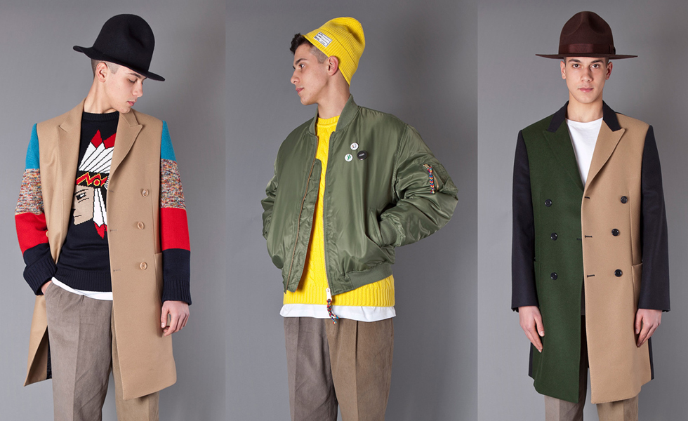 """LC23 Autumn/Winter 2015 """"Native"""" Collection"""
