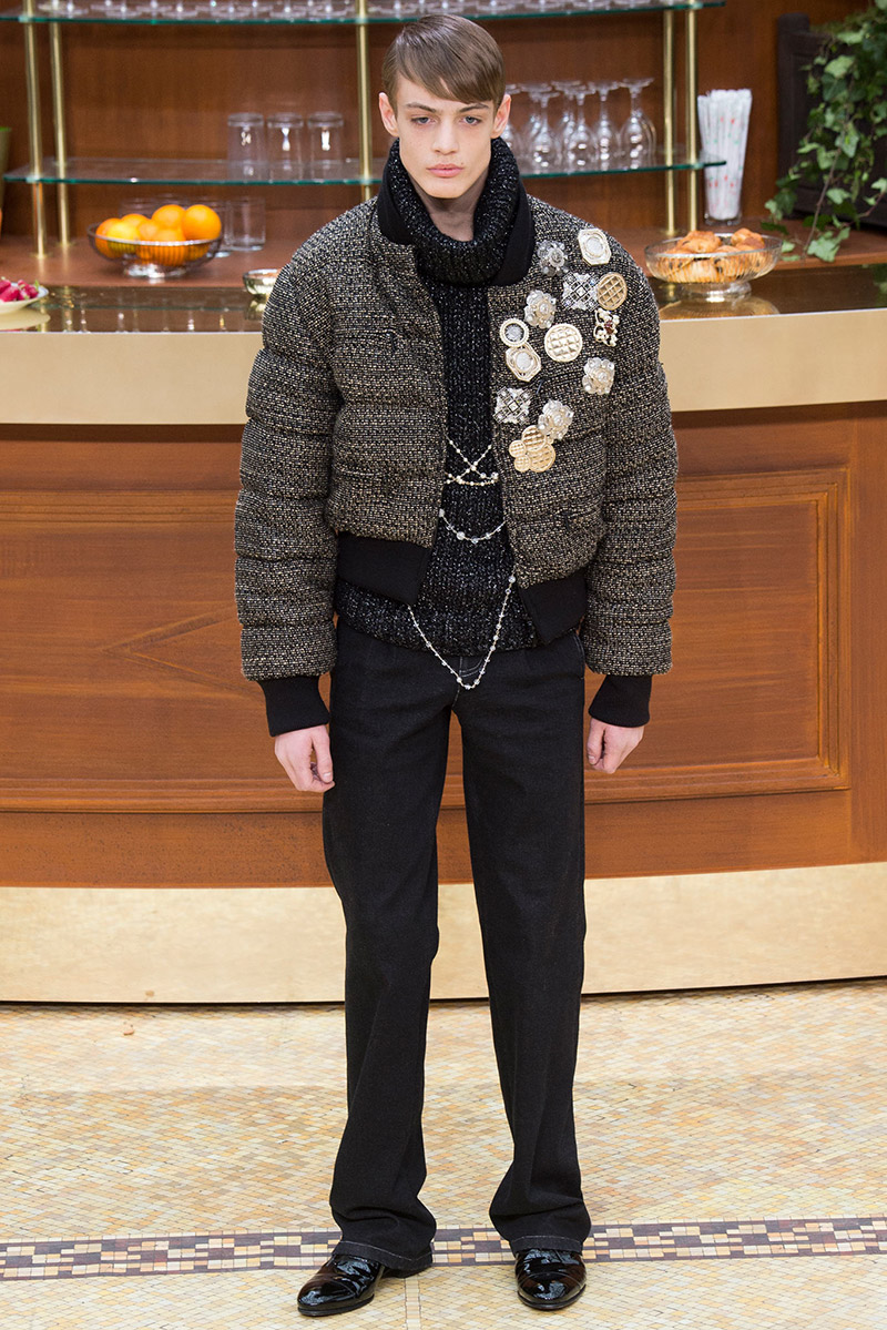 PFW: Chanel Autumn/Winter 2015 Men's Collection