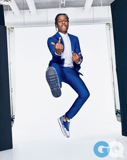 A$AP Rocky Editorial for GQ April 2015