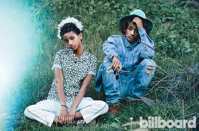 Willow and Jaden Smith Editorial for Billboard Magazine