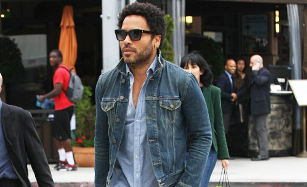 Get The Look: Lenny Kravitz In Saint Laurent At Beverly Hills