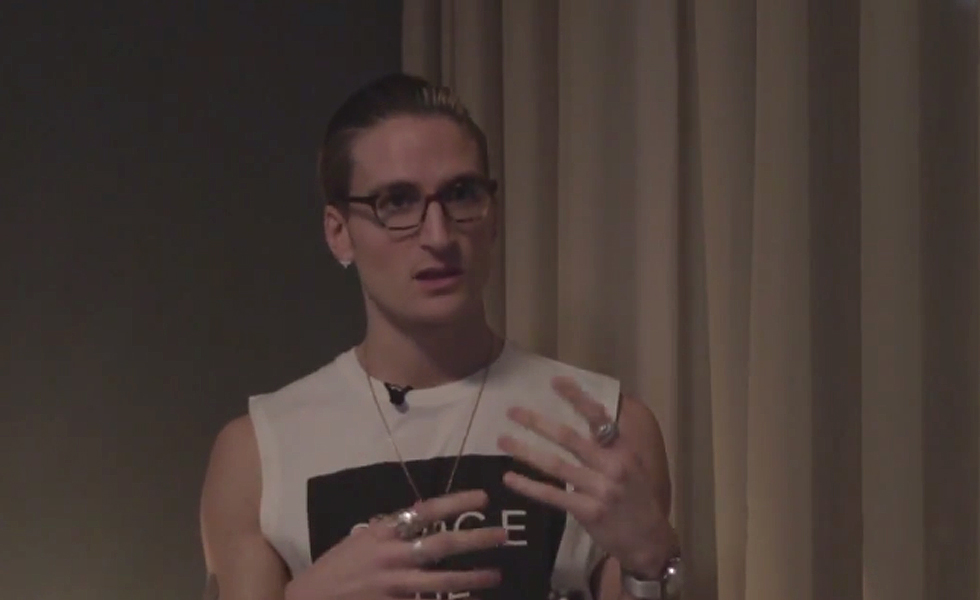 Serge DeNimes SS15 Launch Party Video + Oliver Proudlock Interview