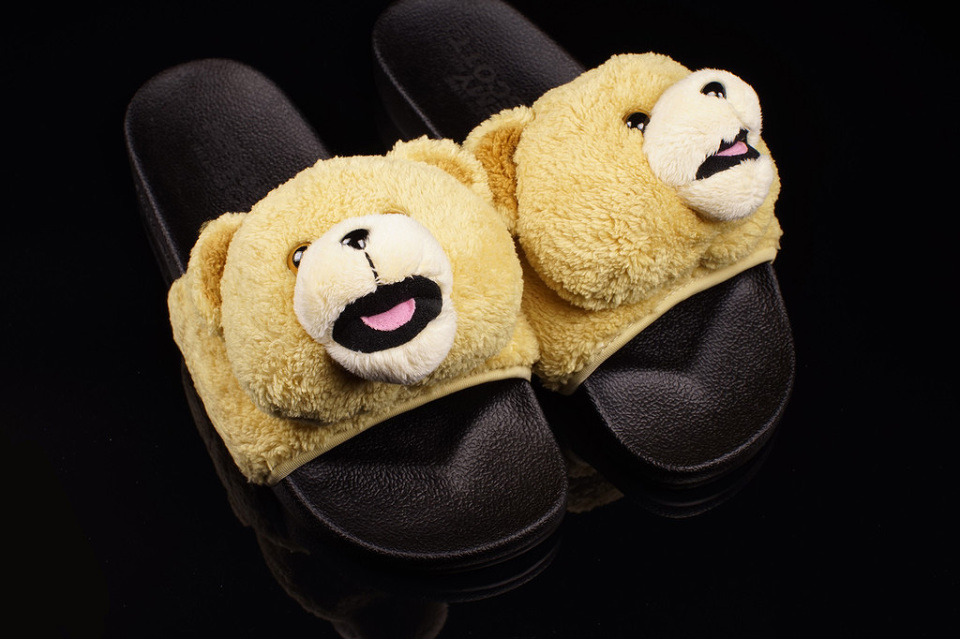 Jeremy Scott x adidas Originals Teddy Bear Slides