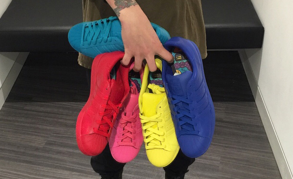 Which adidas Originals x Pharrell Superstars Did You Buy?