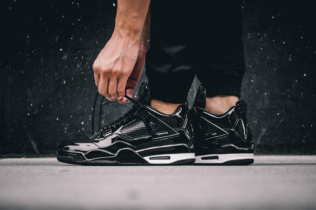 Sneaker Watch: Air Jordan 11Lab4 Black