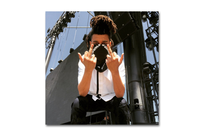 The Weeknd Took Over Alexander Wang's Instagram At Coachella