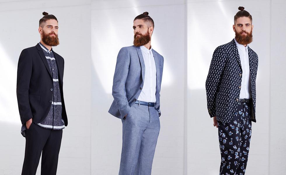 ASOS Menswear Spring/Summer 2015 Occasion Wear Collection