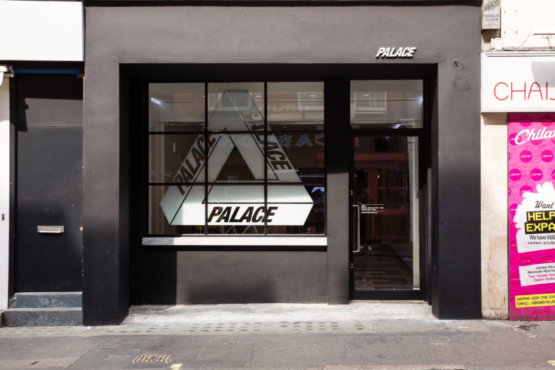 Palace Skateboards' New London Flagship Store