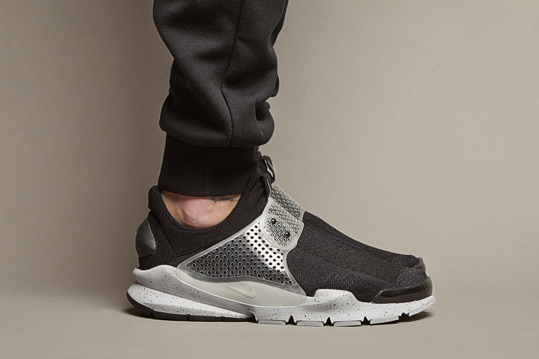 Nike x Fragment Design Sock Dark SP 'Oreo'