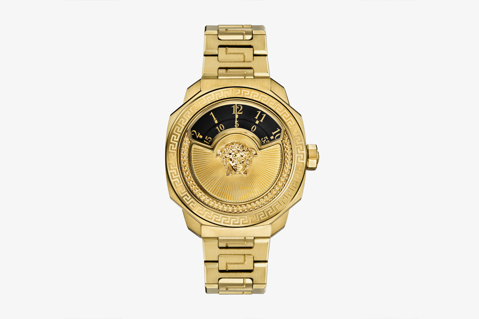 Gadgets: Versace Gold Dylos Watch