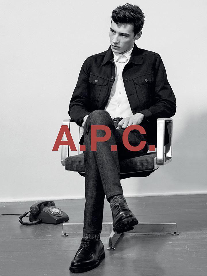A.P.C Pre-Fall 2015 Campaign