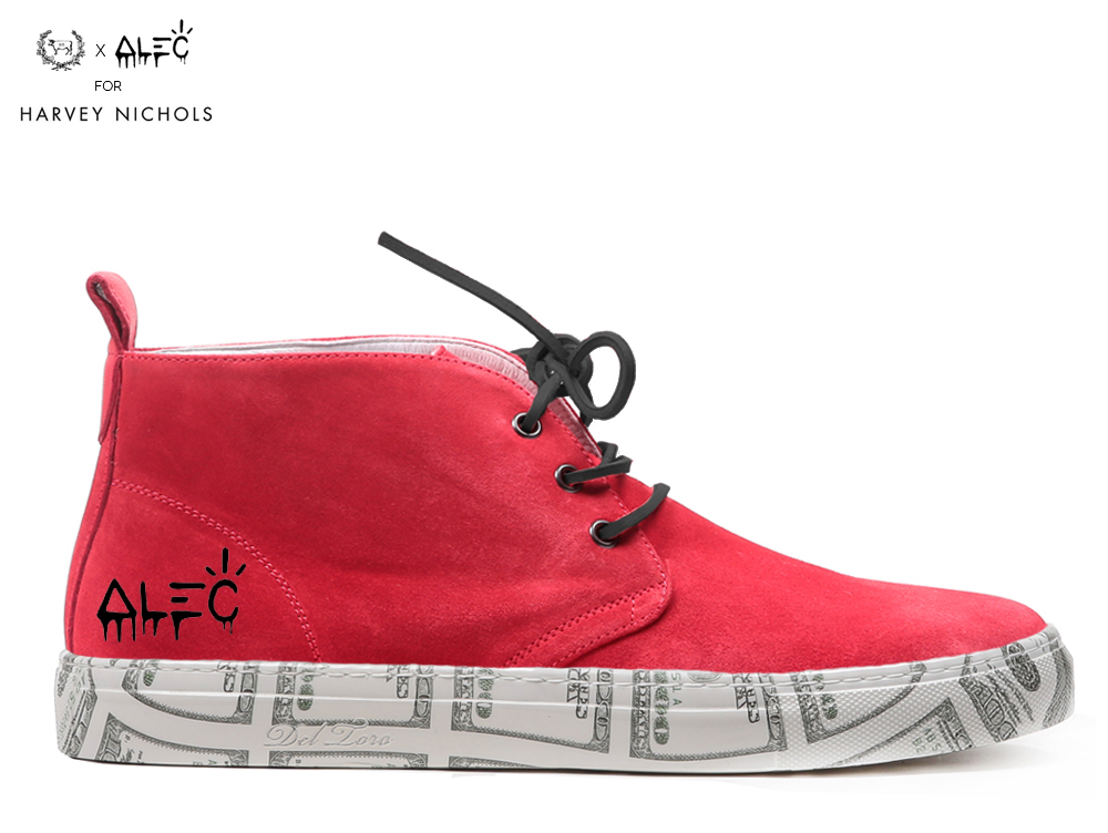 The 'Artist Series': A Limited Edition Sneaker Collaboration Exclusive To Harvey Nichols London