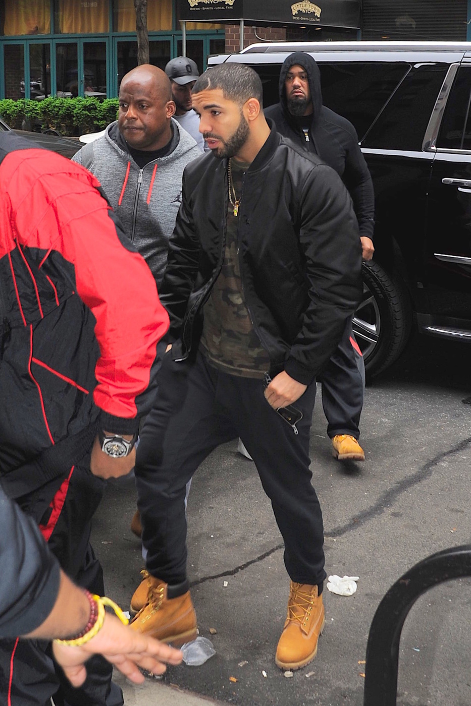 Get The Look: Drake wears Acne Studios in NYC