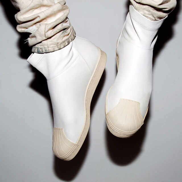 Rick Owens X Superstar Ankle Boot
