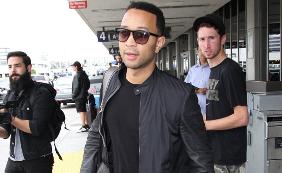Spotted: John Legend in Givenchy Tyson Floral Printed Sneakers