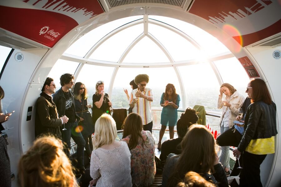 Coca-Cola London Eye celebrates iconic 'adopted Londoners'
