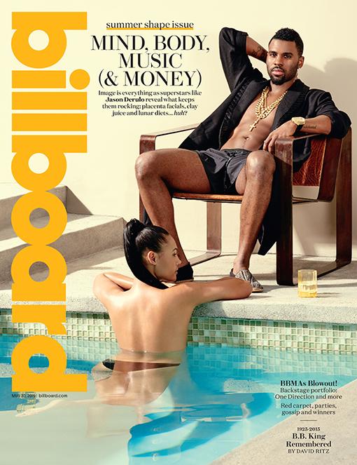 Jason Derulo Covers Billboard MagazineSummer 2015