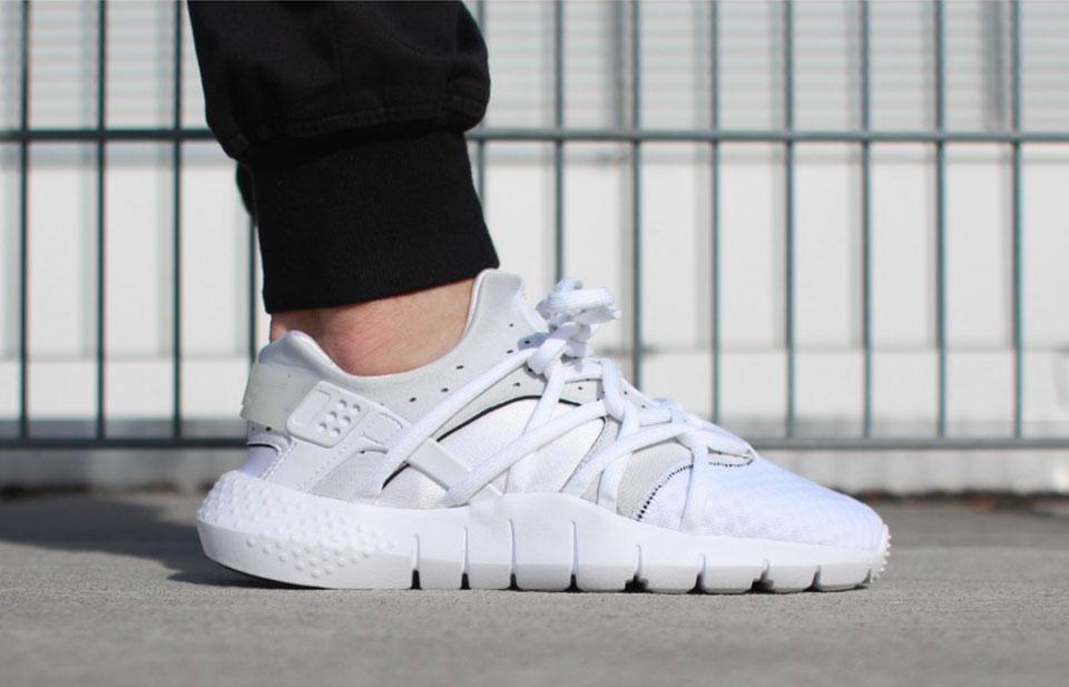"Sneaker Watch: Nike Huarache NM's ""Triple White"""