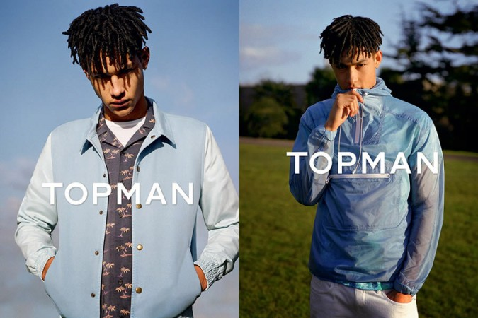 Topman Summer 2015 Campaign
