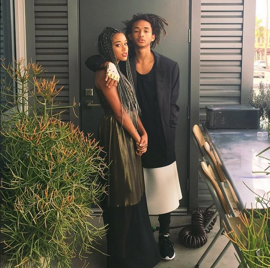 Jaden Smith Wears A Dress to His 2015 Prom