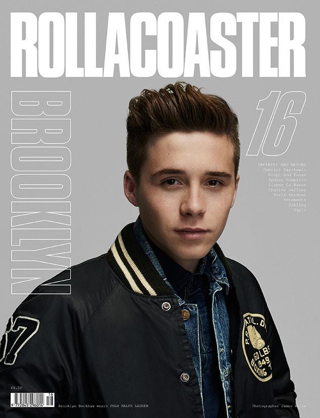 Brooklyn Beckham Sports Ralph for Rollercoaster