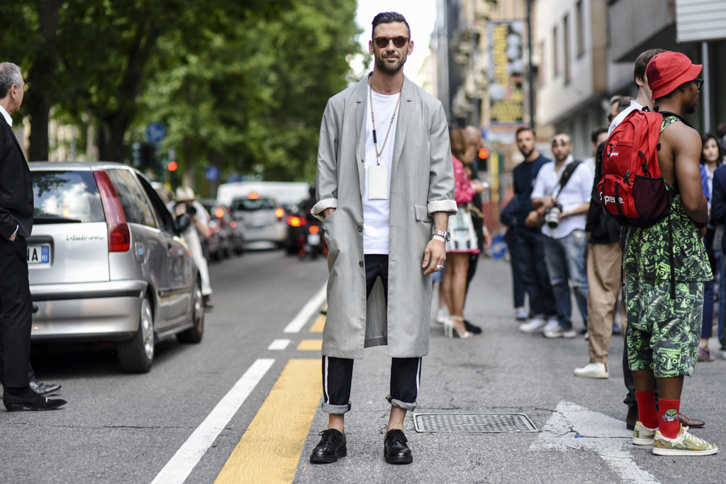 Street Style Shots: Milan Fashion Week Day One, June 2015