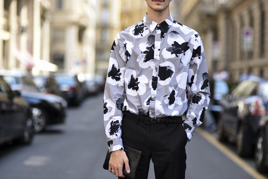 Street Style Shots: Milan Fashion Week Day Two, June 2015