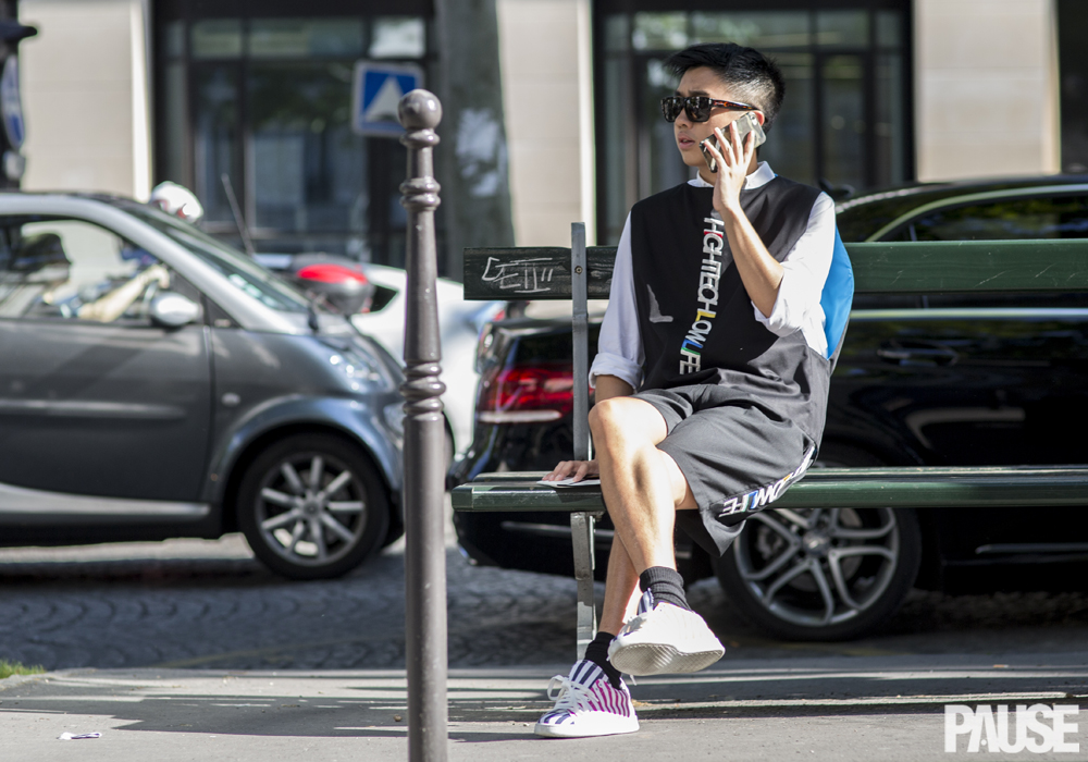 Street Style Shots: Paris Fashion Week Day One, June 2015