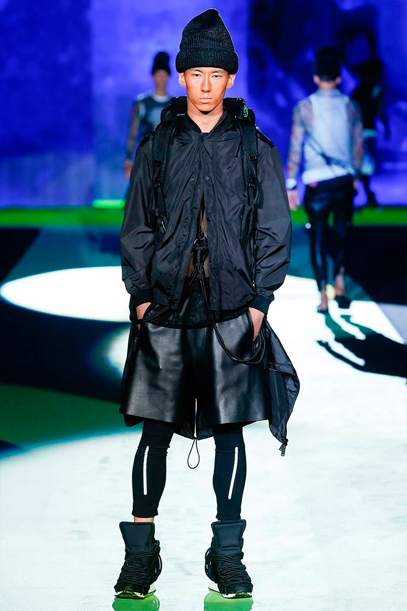 MFW: DSquared2 Spring/Summer 2016 Collection