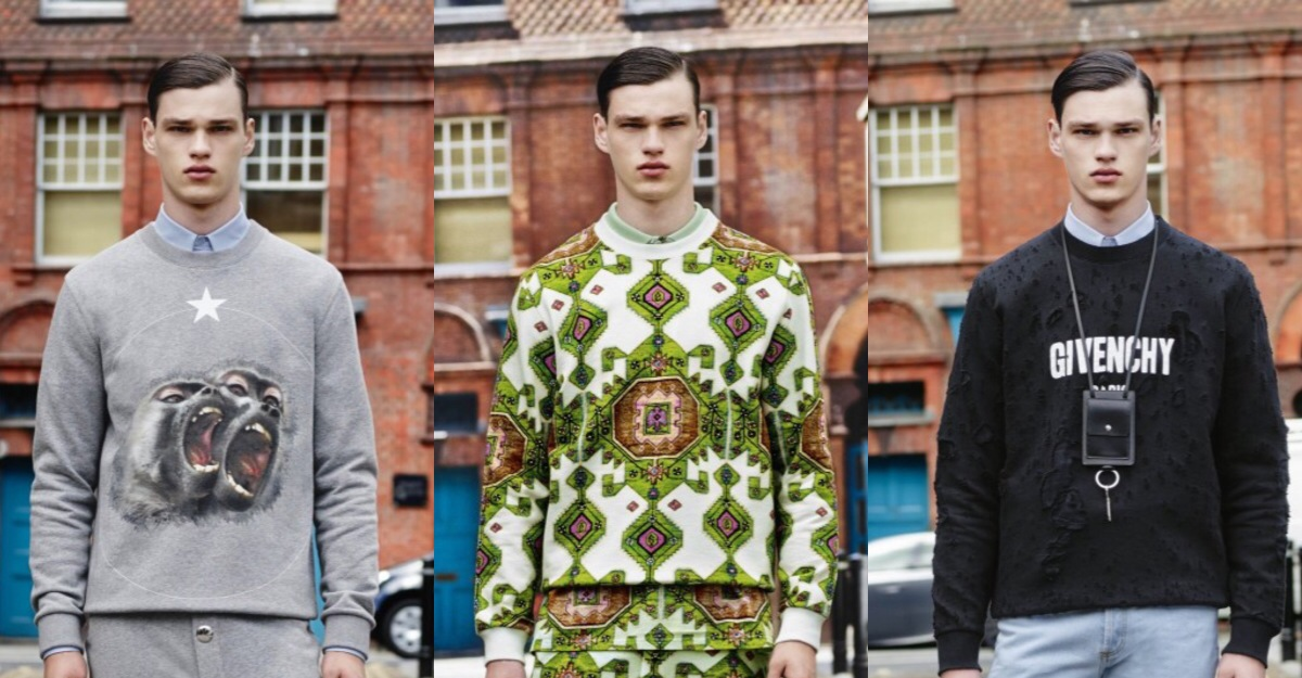 Givenchy Pre-Spring 2016 Menswear Collection